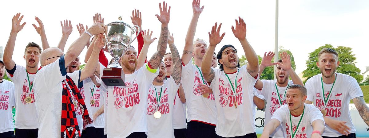 Fussball Verband Mittelrhein Bitburger Pokal Finaltag