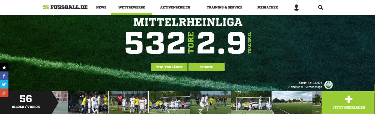 Fussball Verband Mittelrhein Ergebnisse