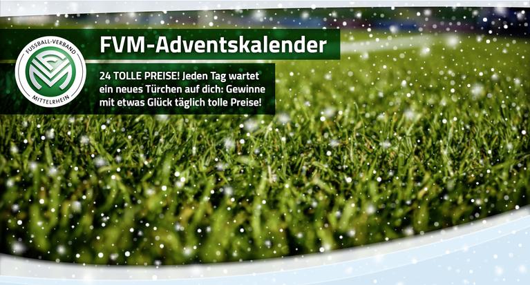 Fussball Verband Mittelrhein Fvm Adventskalender Tolle