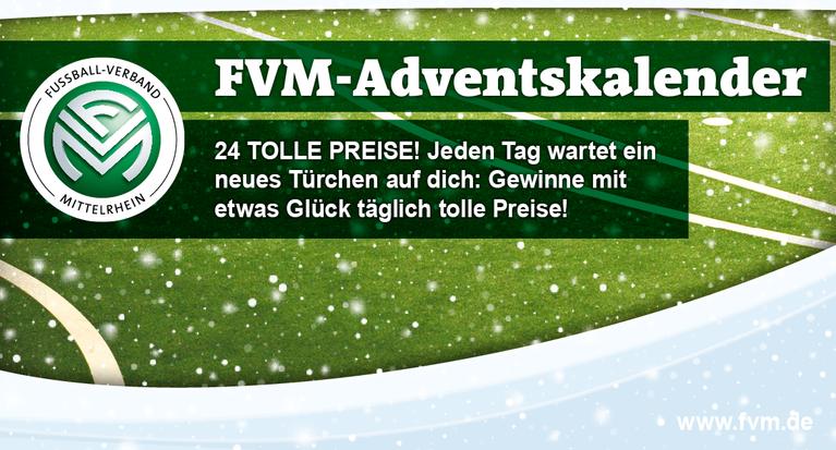 Fussball Verband Mittelrhein Der Fvm Adventskalender 2018
