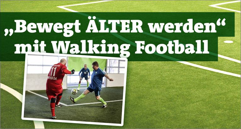 Walking Football-Aktionstag beim F.C. Rasensport Tetz am 10. November
